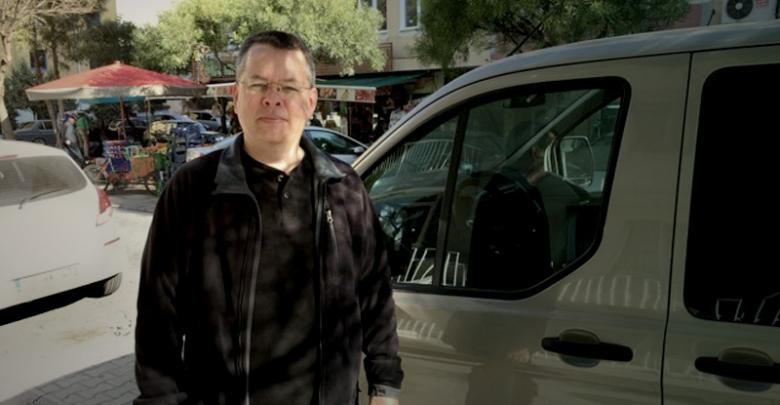 Pastor Andrew Brunson is seen in Izmir