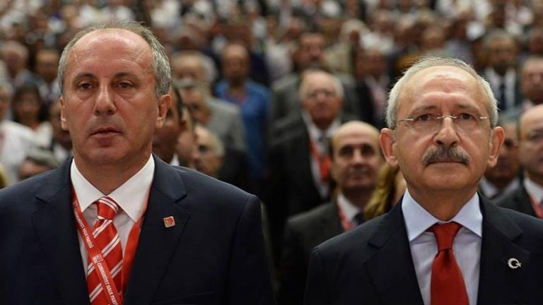 Muharrem Ince and Kemal Kilicdaroglu
