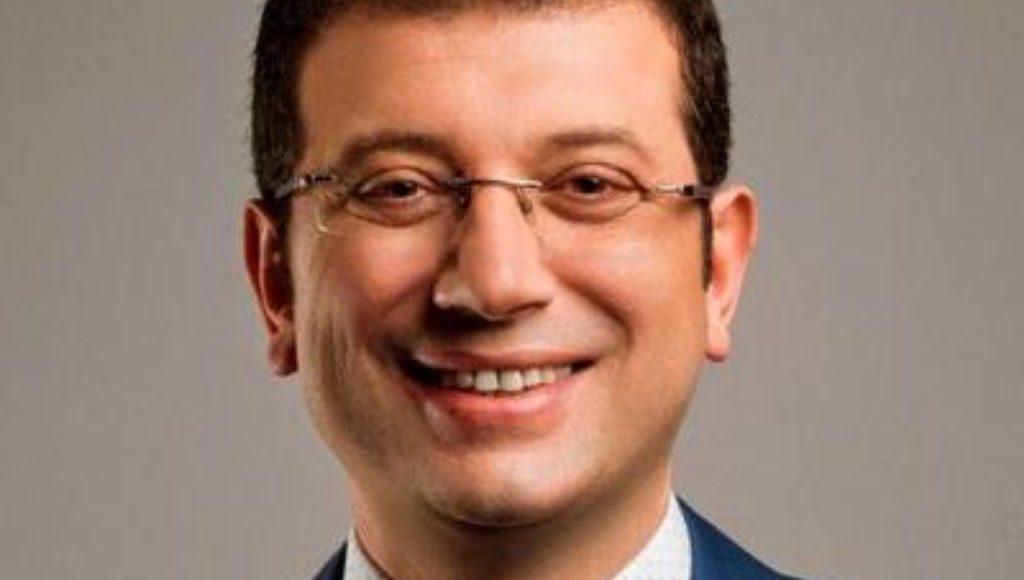 Istanbul Mayor Ekrem Imamoglu.